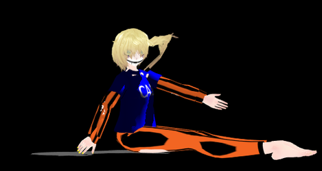 Lil cal MMD model download by Lousweet