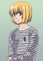 Attack on Titan - Armin Arlert - 90sStyle by its-cloud