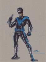 Nightwing by em-scribbles
