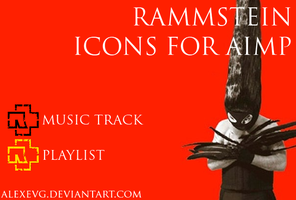 Rammstein Icons for AIMP by AlexEVG