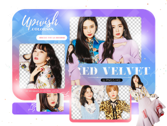 RED VELVET PNG PACK/#3 by Upwishcolorssx
