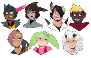 [H-L] Some Busts by ReverseAlchemist
