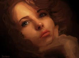 Painting portrait by Graph3Dungo