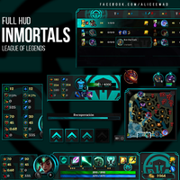 League of Legends HUD - Inmortals [Team] by AliceeMad