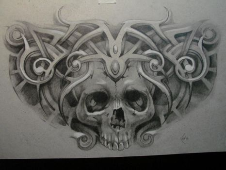sketch for tattoo by Xenija88
