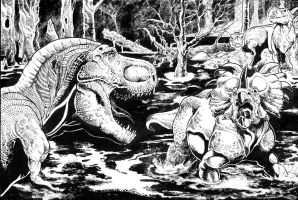 Swamp Attack by TCBaldwin