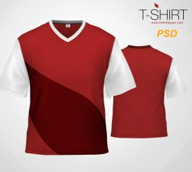 T-Shirt Template - inventlayout.com by atifarshad