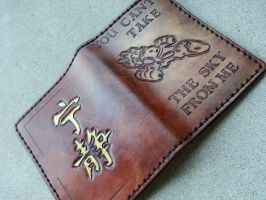 Serenity Passport Holder by JAFantasyArt