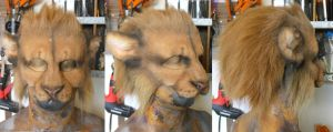 Lion LARP Mask by Magpieb0nes