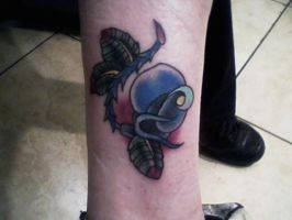 Blue Rose Tattoo 4-11-11 by wolf-girl87