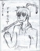 Jack Frost Pen Sketch by SkyLangitCielCielo