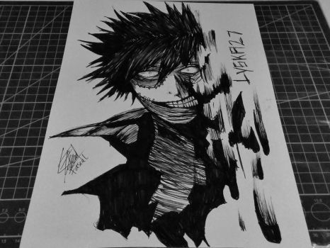 Dabi - Boku no Hero Academia  by lyska27