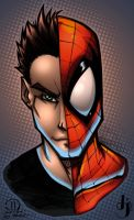 Spidey Self by JoeyVazquez by ArtOfTDJ
