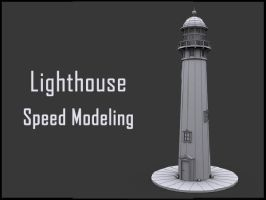 Speed Modeling Lighthouse by andrei313
