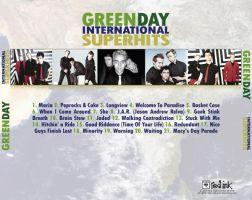 Green Day CD Cover Back by Crutchfield-Creative