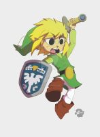 Toon Link by PhilVzQ
