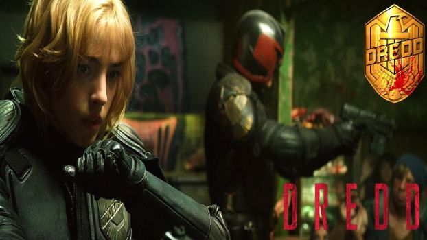 Dredd And Anderson II by douglasfany