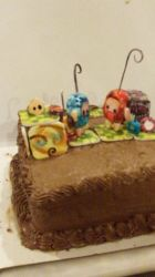 IloMilo Cake- for my love by Thine-WALLOP-Thee