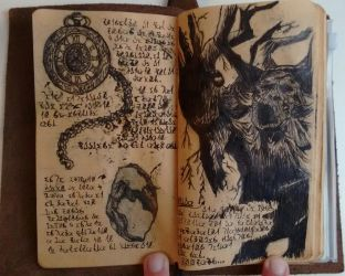 Druids, Eggs and Watchs (Diary 11) by Dr4wner