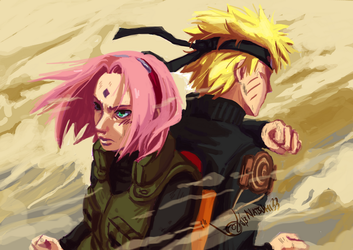 Behind every great man by natsumi33