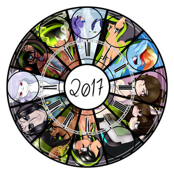 Art summary 2017 by BladeDeeHunter