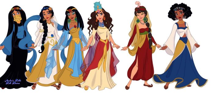 The Middle Eastern Tribe by RainbowEmpress