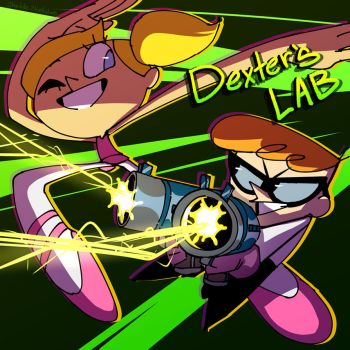 Dexter's Laboratory by CharlotteSketches