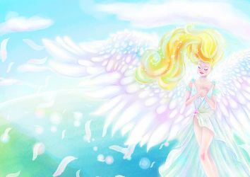 Angel of Light by SaraHeartArt