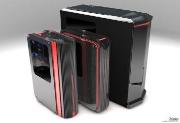 High-End Computer Cases by josepa