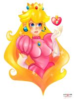 Princess Peach! by frenchysmagicaltrip
