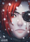 Ash in Snow by Kaorien