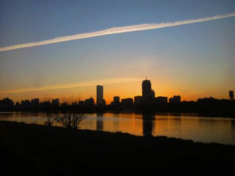 Boston sunrise by AngelHughes
