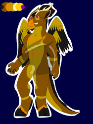 DAD Adopt for (SOLD) by Xenodragon11Crafts