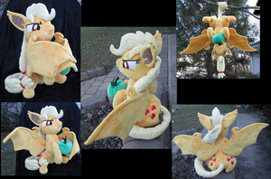AppleBat Plush More Views by The-Crafty-Kaiju