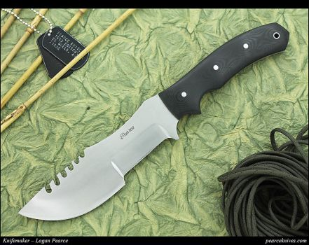 Tracker Knife by Logan Pearce by Logan-Pearce