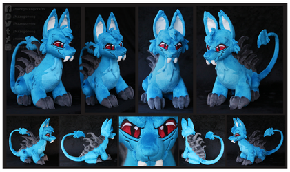 Darigan Bori Custom Plush by Nazegoreng