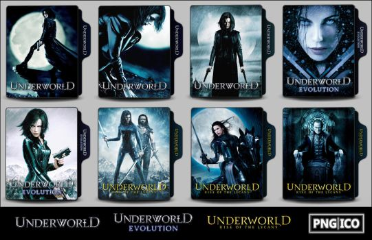 Underworld 1-3 Folder Icons by OnlyStyleMatters