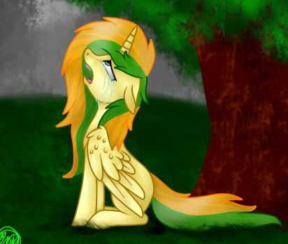 Loneliness by ImmaGoddamPony