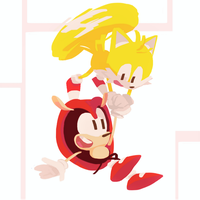 Mighty and Tails - Sonic Mania Plus 7/10 by Lallelol