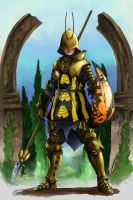 Ser Briar - The Stinger of Honeyholt by Trollskog-Studio
