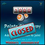 1000 Points Giveaway - WINNERS by Lilyas