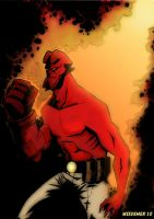 Hellboy Color by sosnw