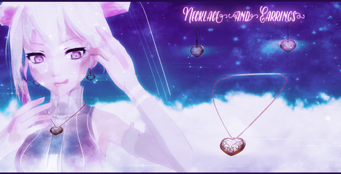 [MMD] Necklace and Earrings - DL - DOWNLOAD by MaiMami