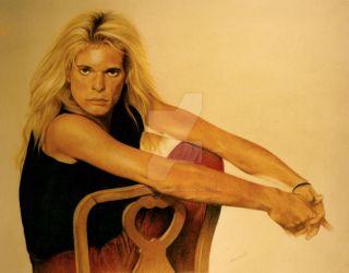 David Lee Roth by DotPerspectives