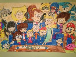 My Big Happy Loud Family by anthonysonicfan1