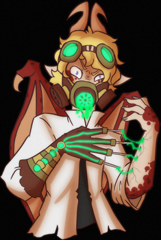 Goretober Day 26 - Needles by CopperSpy