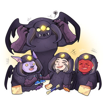 Halloween 2016 - Roshan party by keterok