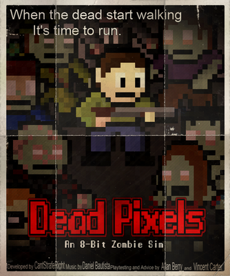Dead Pixels Boxart by CantStrafeRight