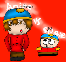 AT with MB: Anime Cartman VS SP Cartman by Hallerpl
