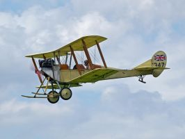Royal Aircraft Factory B2-2C Sywell by davepphotographer